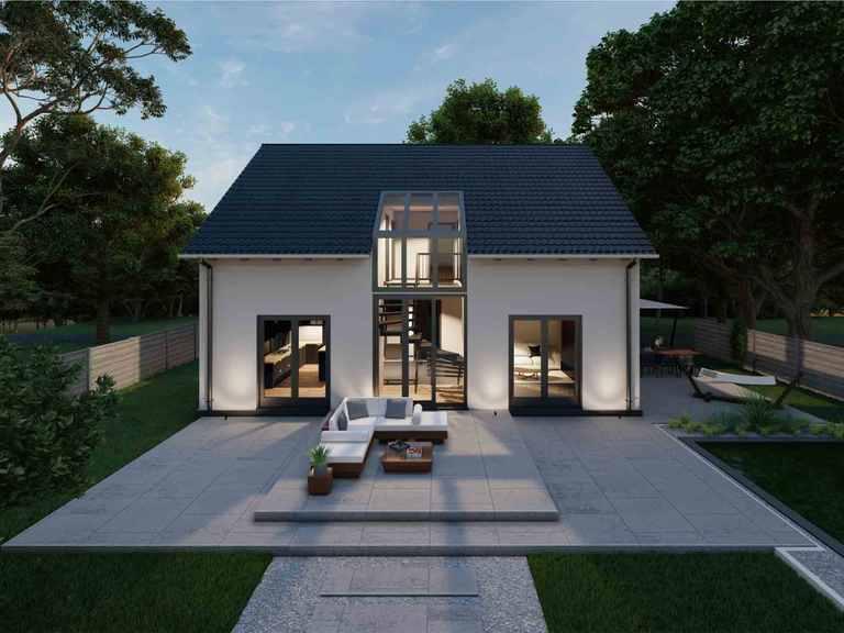 Satteldachhaus Oberlahr 70-035 - Econ Haus