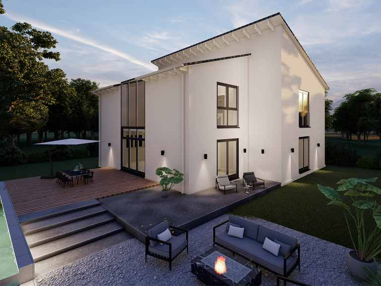 Pultdachhaus Birnbach 30-007 - Econ Haus