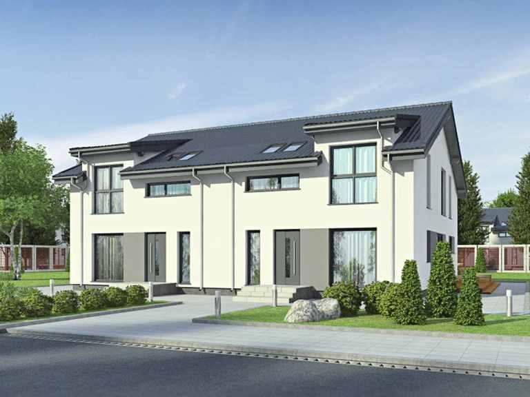 Doppelhaus Partner 158A - Danwood