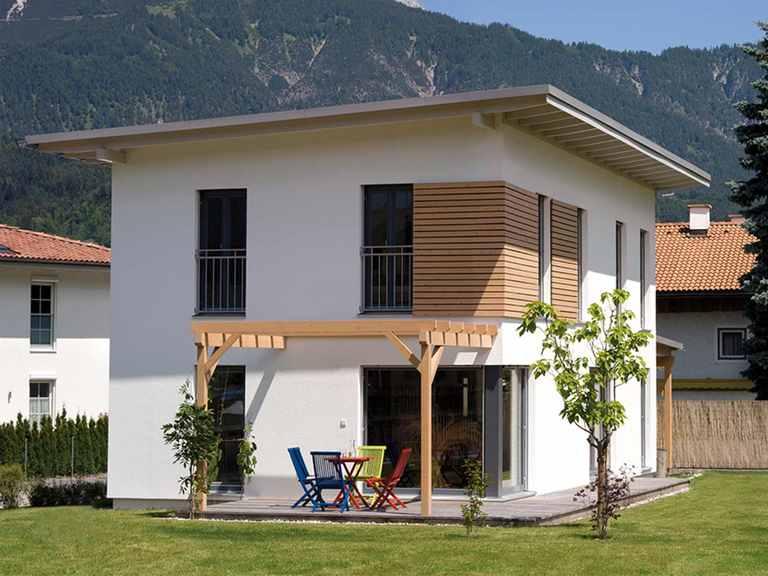Pultdachhaus Volders - Regnauer Hausbau