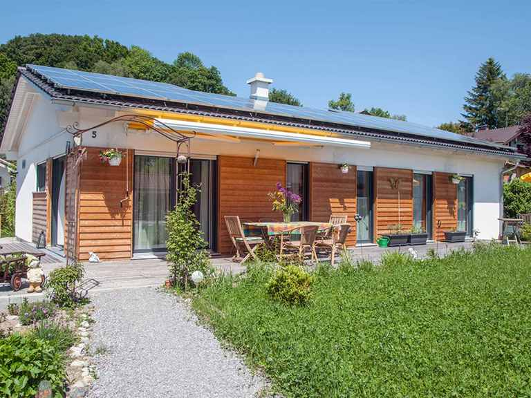 Bungalow Rauschberg - Regnauer Hausbau