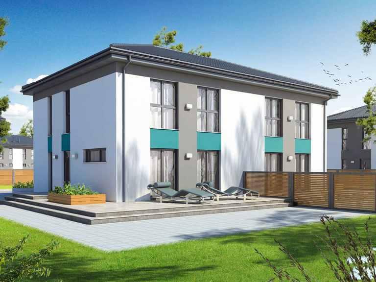 Doppelhaus Partner 117W - Danwood House