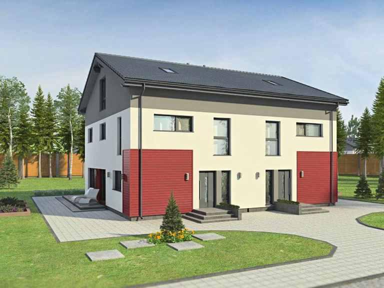 Doppelhaus Partner 196 - Danwood House