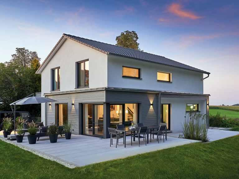 Einfamilienhaus Faber - Fertighaus WEISS
