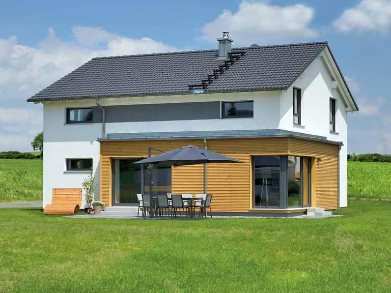Einfamilienhaus Grauer - Fertighaus WEISS