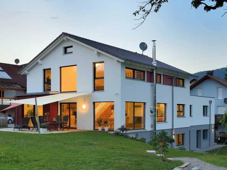 Einfamilienhaus Ingelfinger - Fertighaus WEISS