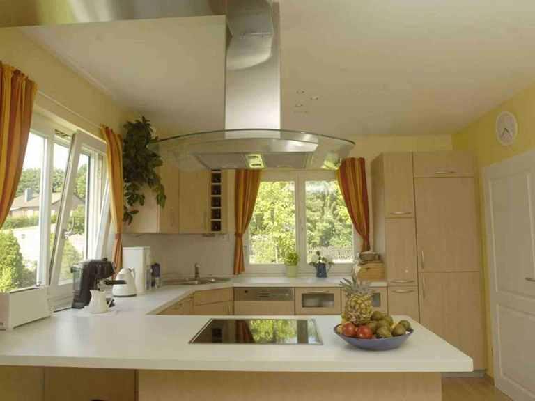 Individuell geplantes Kundenhaus 3 - WOLF System Haus Offene Küche