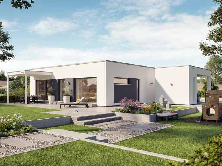 Bungalow SOLUTION 82 V4 - Living Haus