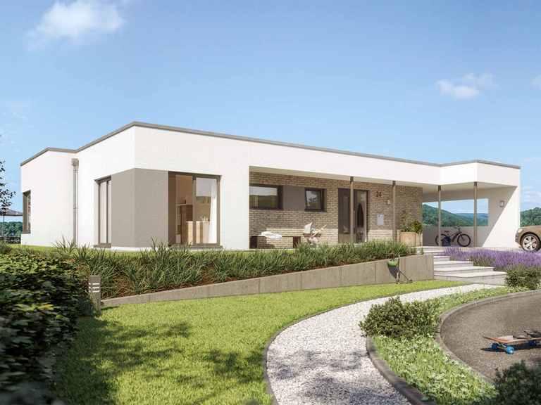 Bungalow SOLUTION 101 V4 - Living Haus