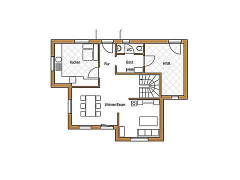 Holz 113 Grundriss Erdgeschoss