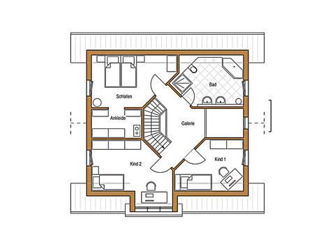 Natur 138 Grundriss Dachgeschoss