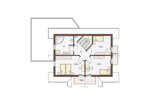 Natur 139 Grundriss Dachgeschoss