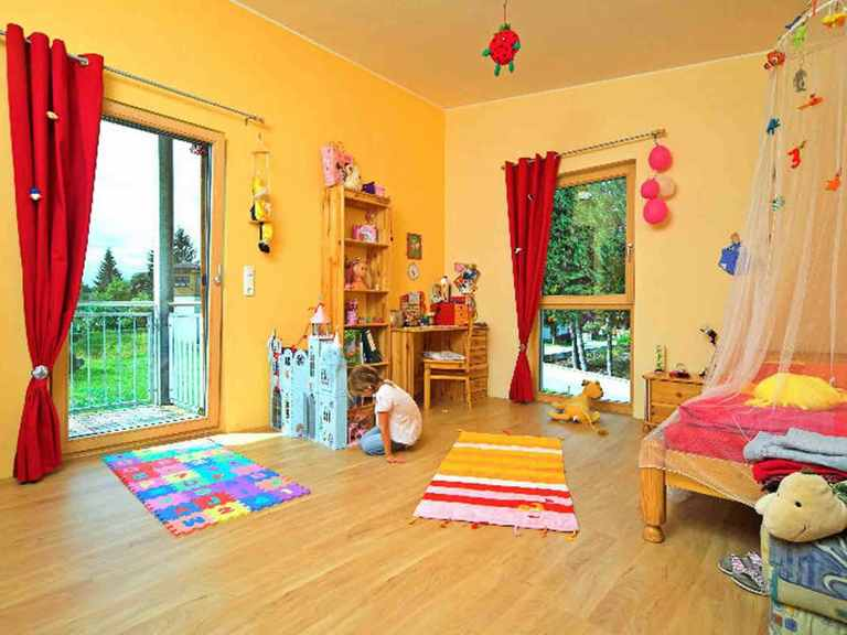 Combino Pulthaus - WOLF System Haus Kinderzimmer