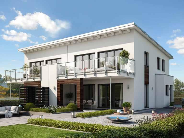 Doppelhaus CELEBRATION 122 V4 L - Bien Zenker