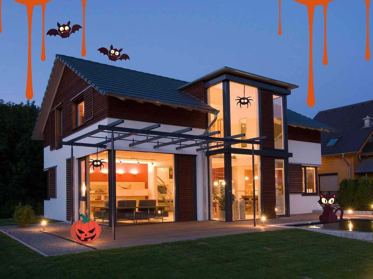 Holzhaus Design 168 Halloween