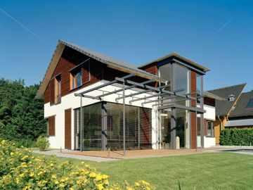 Musterhaus Design 168 von Frammelsberger Holzhaus
