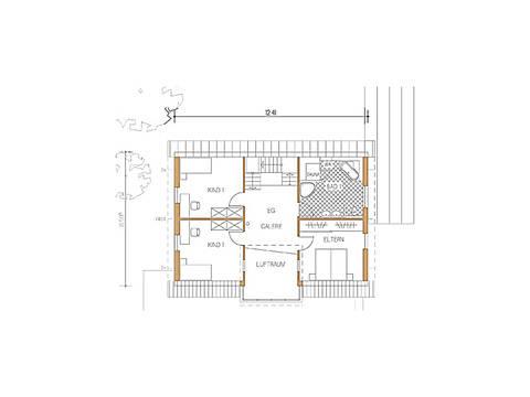 Haus Design 168 Grundriss Dachgeschoss