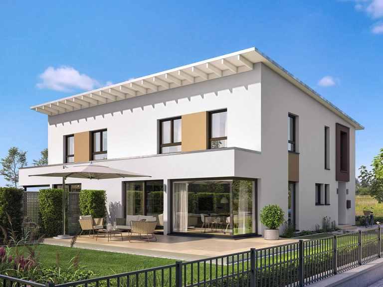 Doppelhaus CELEBRATION 139 V4 L - Bien Zenker