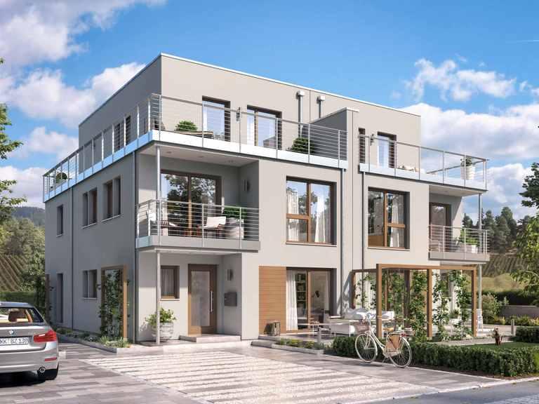 Doppelhaus CELEBRATION 139 V7 XL - Bien Zenker