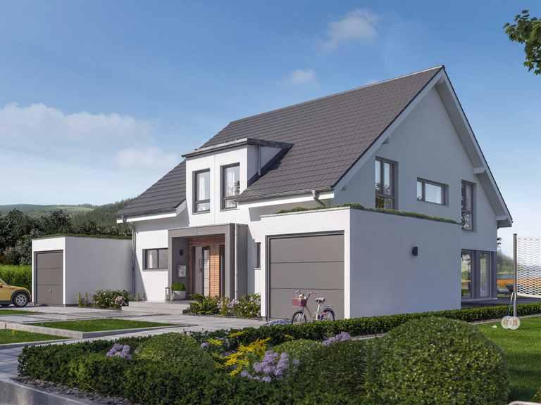 Doppelhaus SOLUTION 117 L V2 - Living Haus
