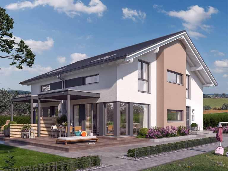 Doppelhaus SOLUTION 117 L V3 - Living Haus