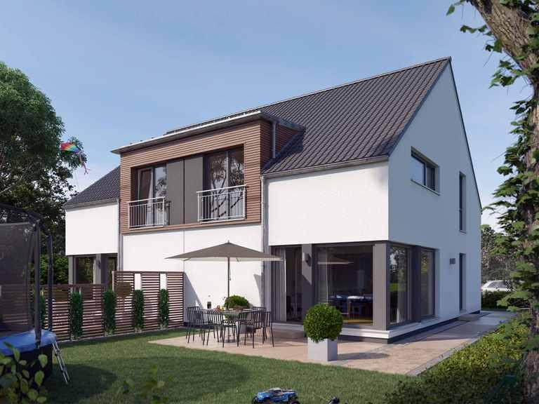 Doppelhaus SOLUTION 124 L V2 - Living Haus
