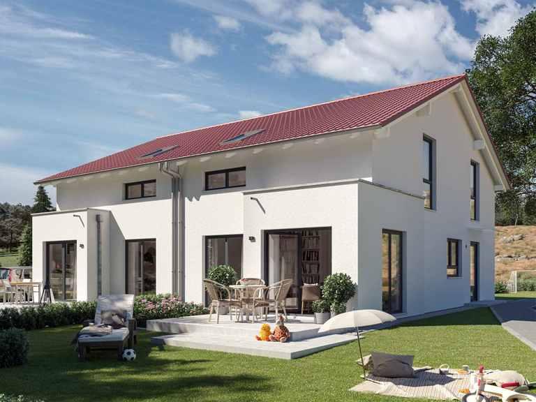 Doppelhaus SOLUTION 124 L V3 - Living Haus