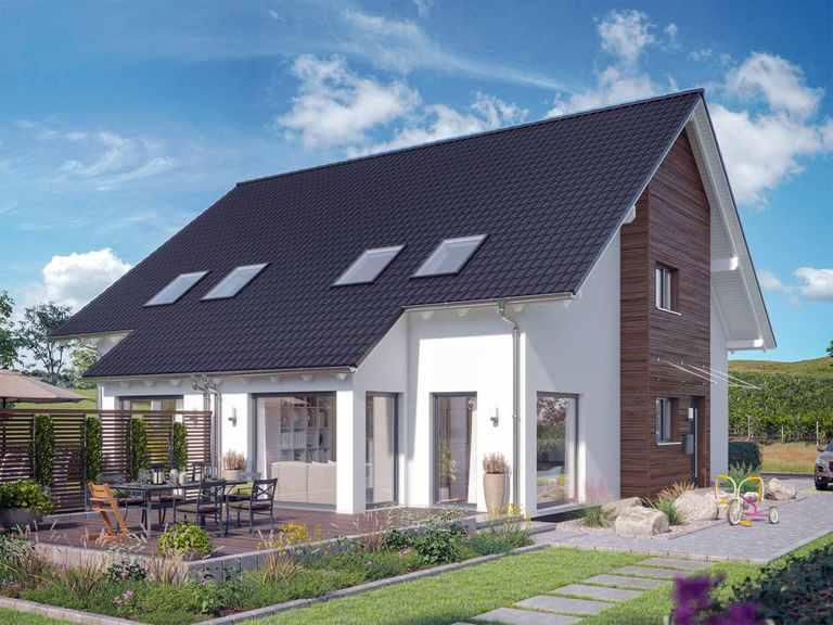 Doppelhaus SOLUTION 125 L V2 - Living Haus