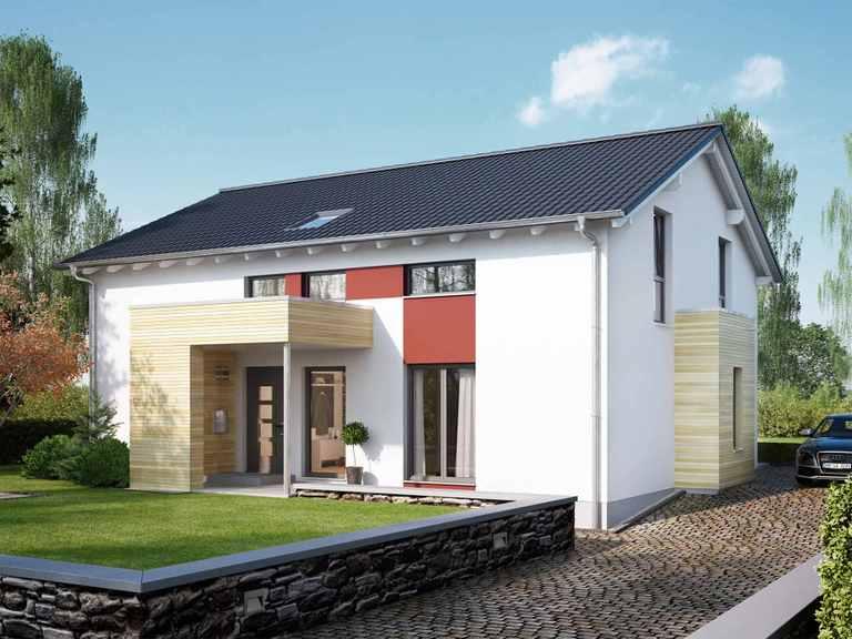 Zweifamilienhaus SOLUTION 204 V4 L - Living Haus