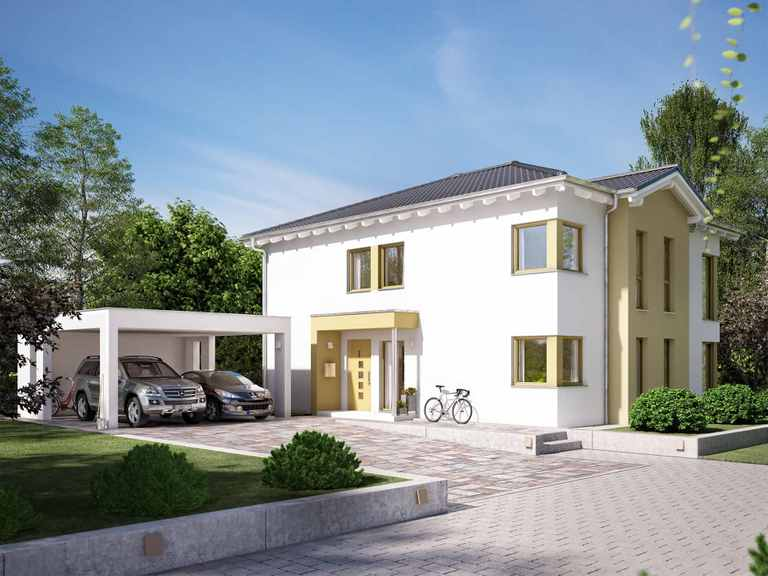Zweifamilienhaus SOLUTION 204 V7 L - Living Haus