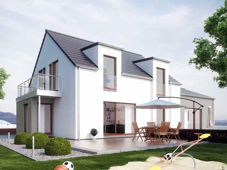 Mehrgenerationenhaus SOLUTION 183 V2 - Living Haus