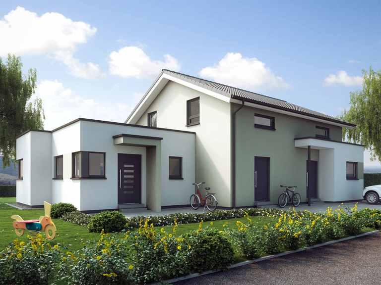 Mehrgenerationenhaus SOLUTION 183 V5 - Living Haus