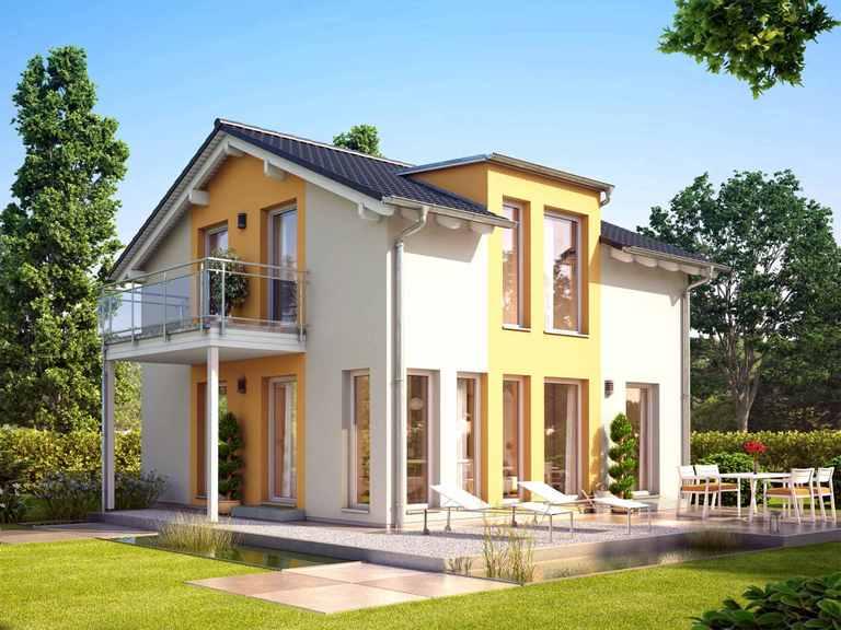 Einfamilienhaus SUNSHINE 113 V4 - Living Haus