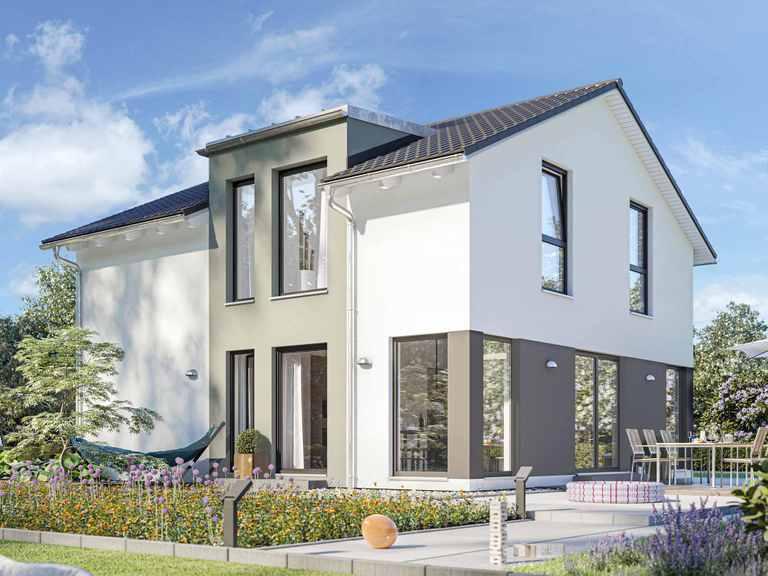 Einfamilienhaus SUNSHINE 126 V4 - Living Haus