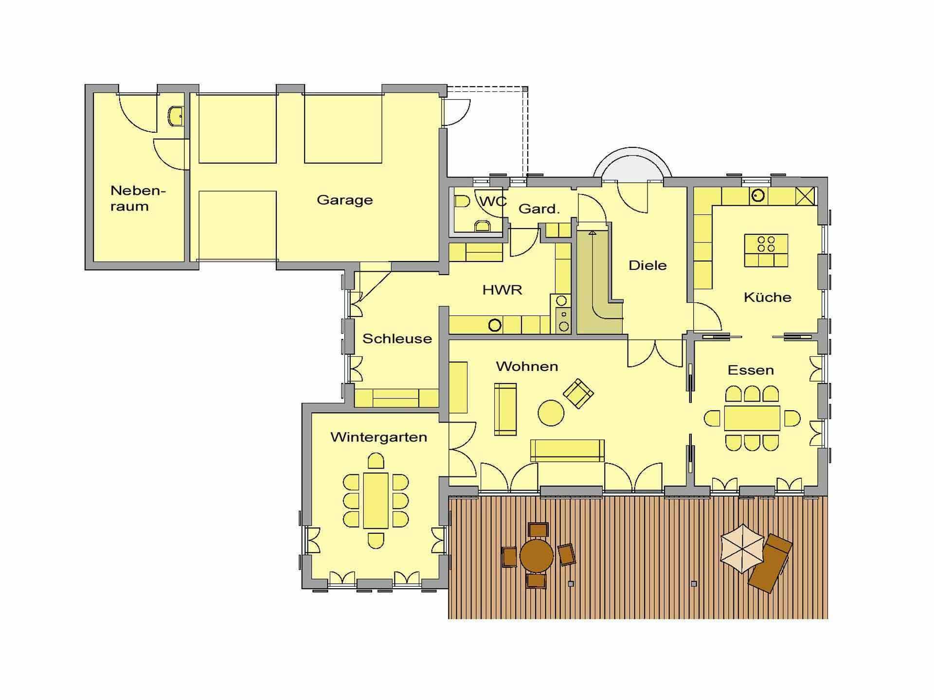 Haus Toskanastil WOLF System Haus