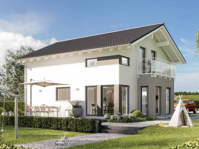 Einfamilienhaus SUNSHINE 136 V4 - Living Haus