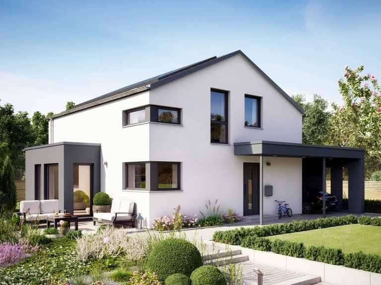Einfamilienhaus SUNSHINE 143 V5 - Living Haus
