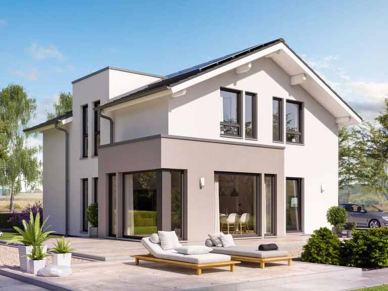 Einfamilienhaus SUNSHINE 144 V4 - Living Haus