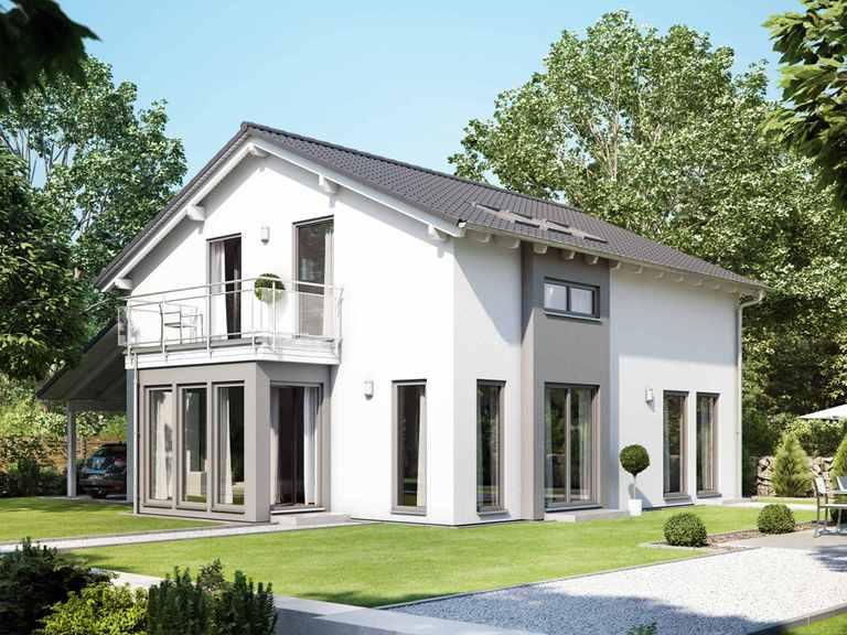 Einfamilienhaus SUNSHINE 151 V5 - Living Haus