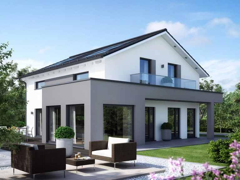 Einfamilienhaus SUNSHINE 165 V4 - Living Haus