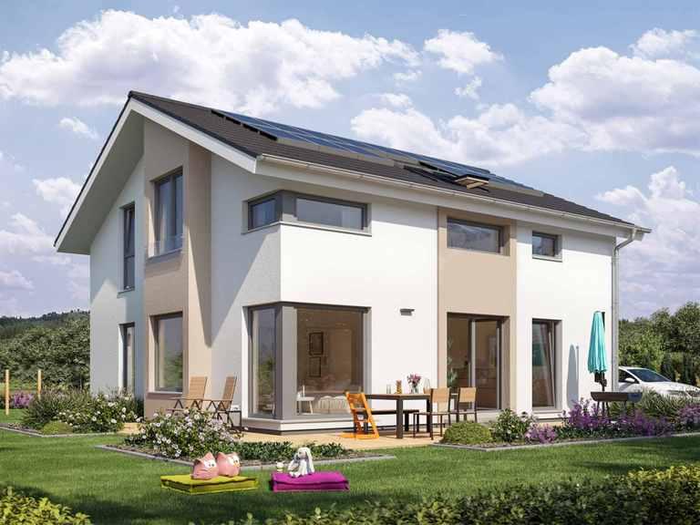Einfamilienhaus SUNSHINE 167 V4 - Living Haus
