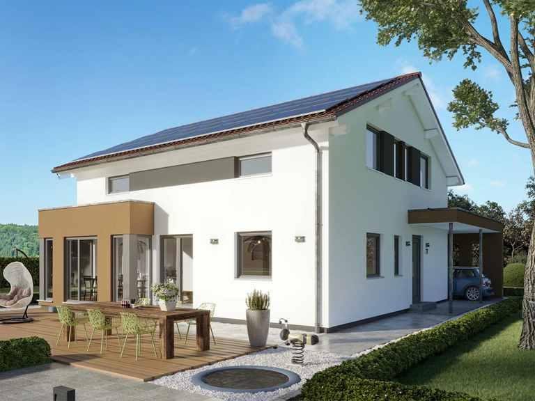 Einfamilienhaus SUNSHINE 167 V5 - Living Haus
