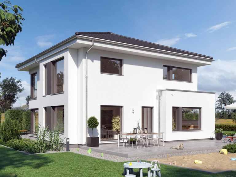 Einfamilienhaus SUNSHINE 167 V6 - Living Haus