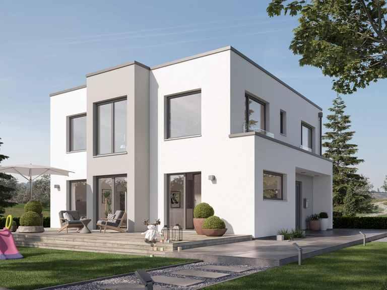 Einfamilienhaus SUNSHINE 167 V7 - Living Haus