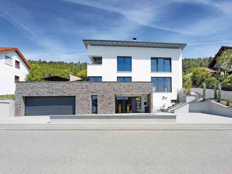 Pultdachhaus 203 mit Hanglage -  MyMassiv