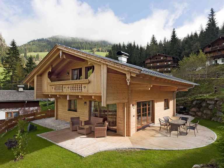 Holzhaus Alpentraum - Fullwood