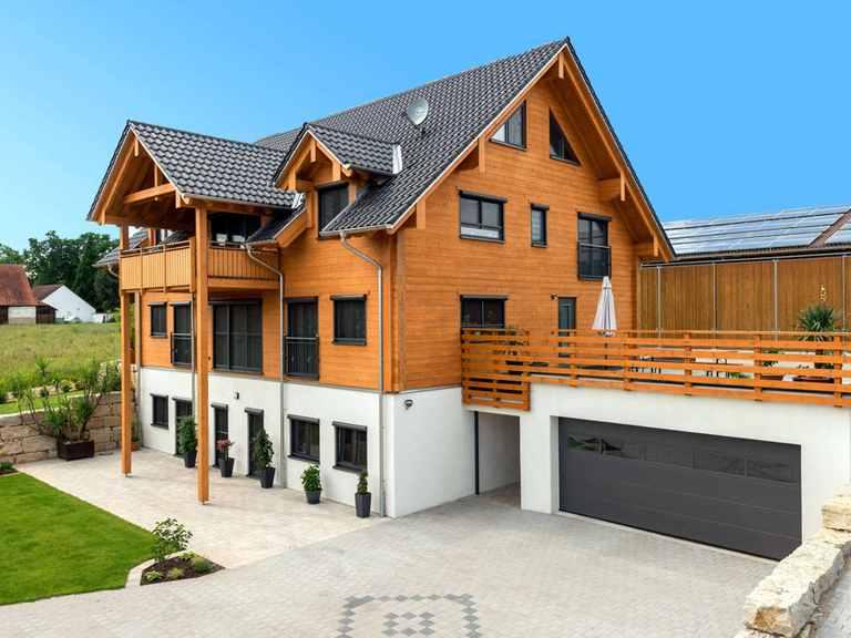 Holzhaus Fränkische Sonne - Fullwood
