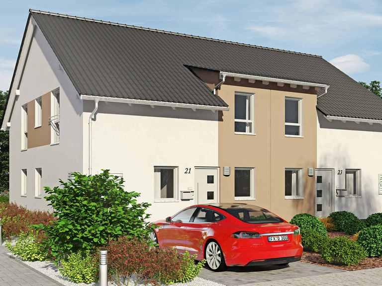 Doppelhaus Duett 134 - Fingerhut Huas