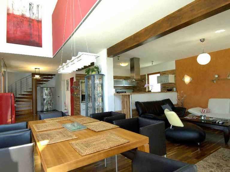 Individuell geplantes Kundenhaus 4 - WOLF System Haus Essbereich