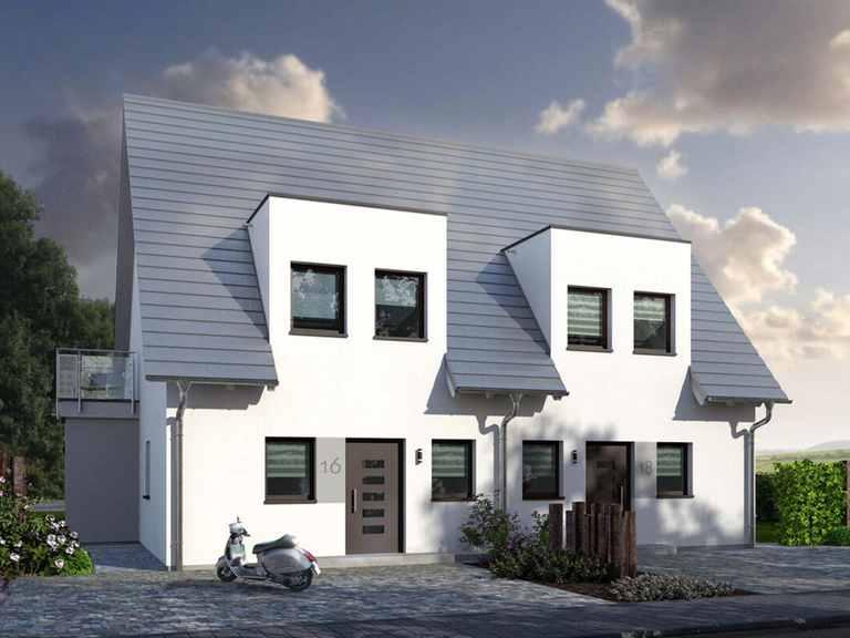Doppelhaus Double 1 - allkauf haus